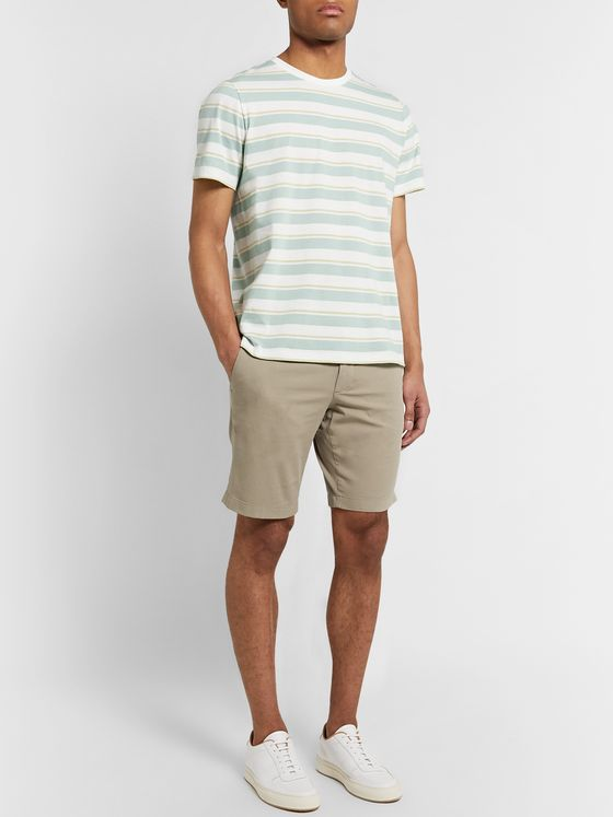 Theory Zaine Cotton-Blend Shorts