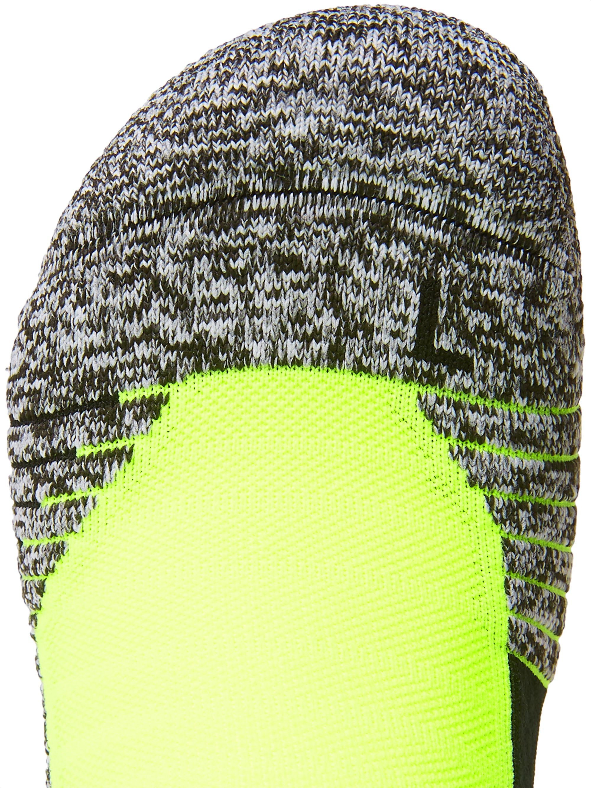 Under Armour UA Run Cushioned Mélange Stretch-Knit Crew Socks