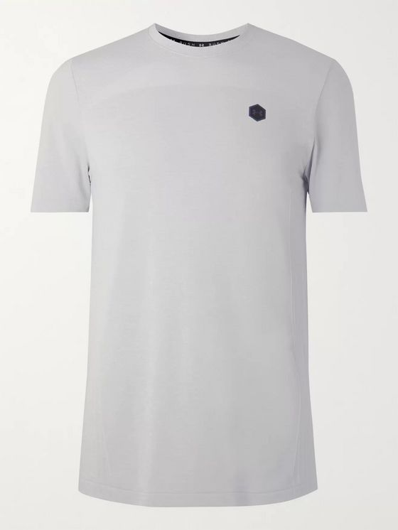 Under Armour Rush Mesh-Panelled HeatGear T-Shirt