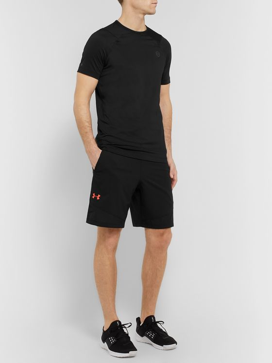 Under Armour UA Rush HeatGear Stretch Tech-Jersey T-Shirt