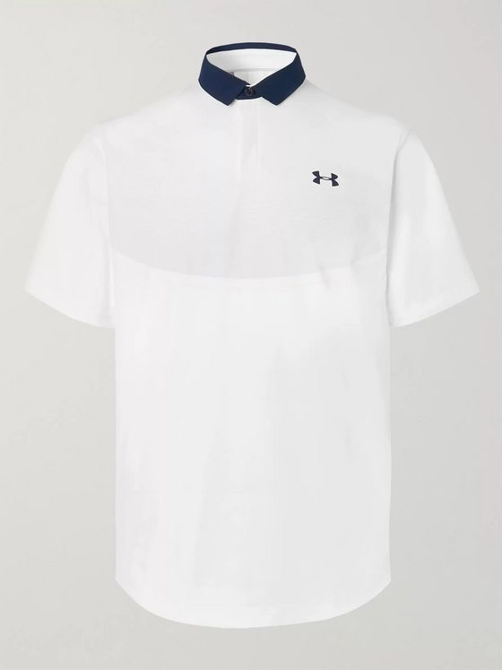 Under Armour UA Iso-Chill Stretch-Piqué Golf Polo Shirt
