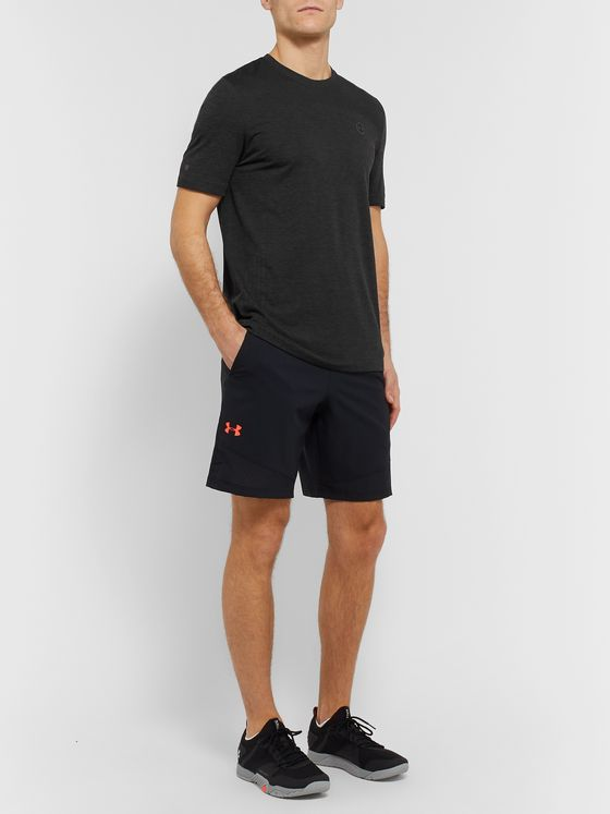 Under Armour UA Rush Mesh-Panelled HeatGear T-Shirt