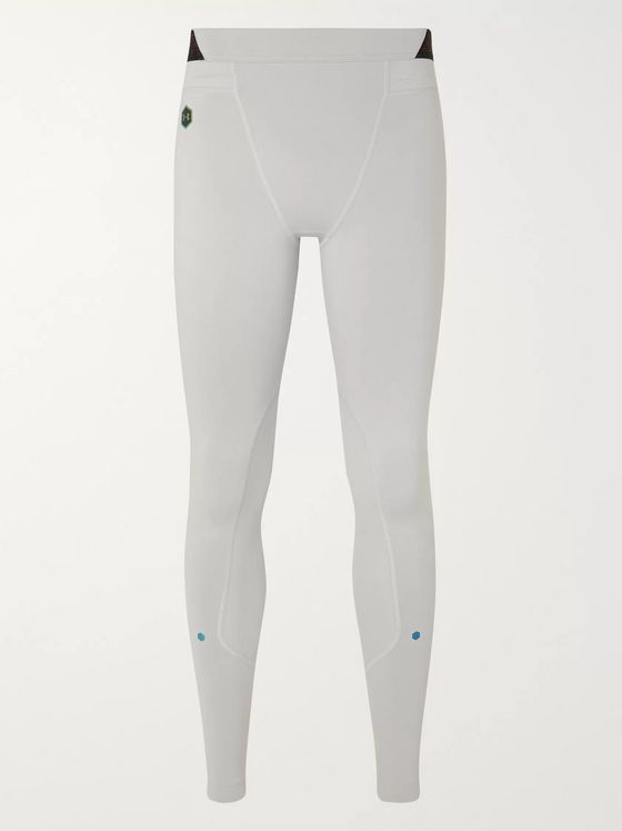 Under Armour UA Rush Celliant Mesh-Panelled Stretch Tech-Jersey Compression Tights