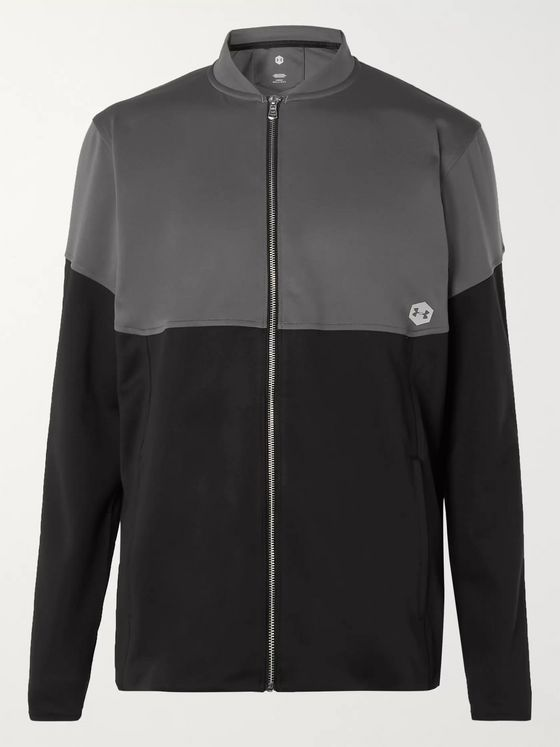 Under Armour UA Recover Colour-Block Tech-Jersey Jacket