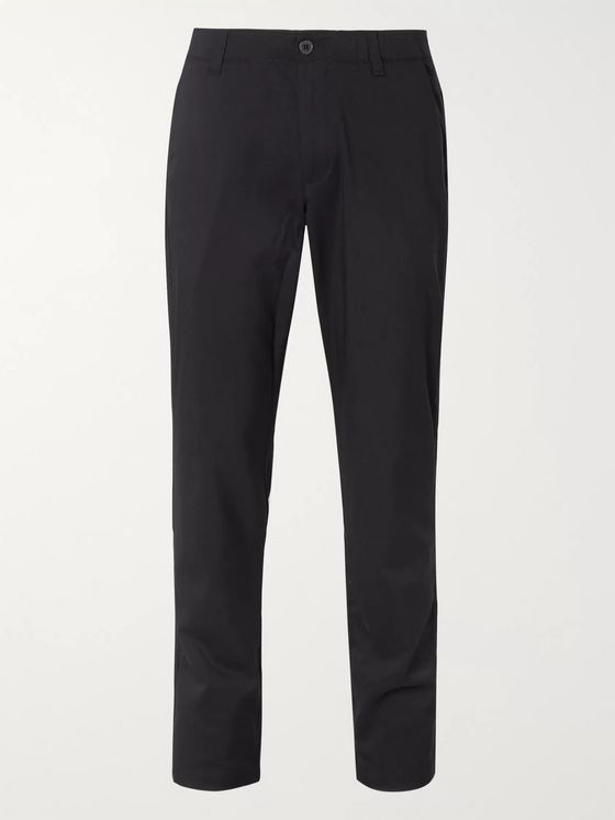 Under Armour Showdown Slim-Fit Herringbone Stretch Nylon-Blend Golf Trousers