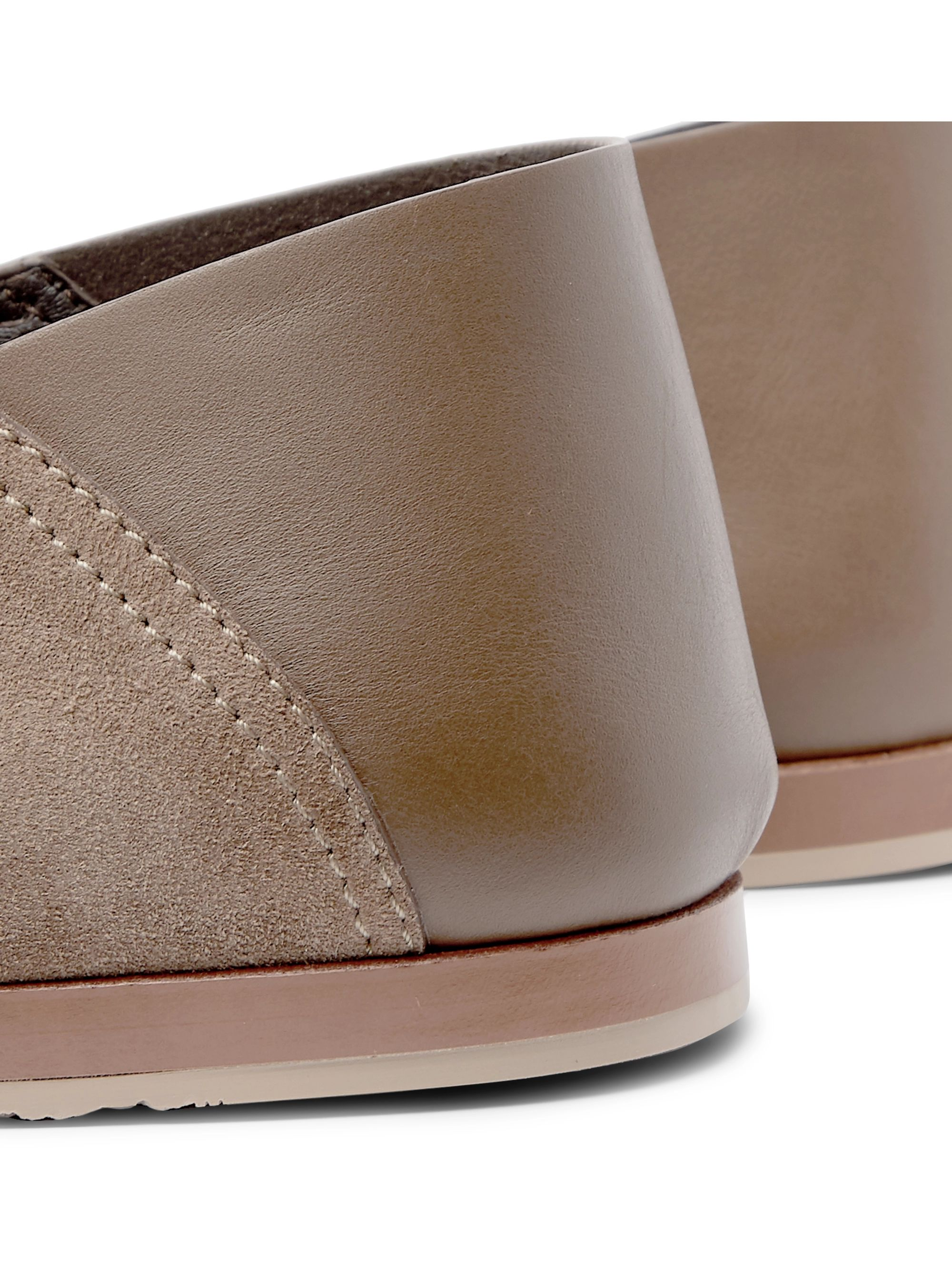 Ermenegildo Zegna Collapsible-Heel Suede and Leather Espadrilles
