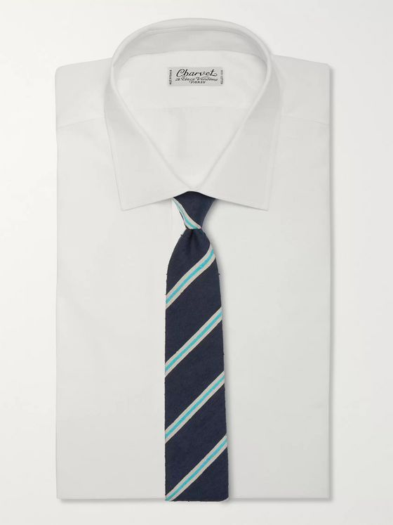 Richard James 7cm Silk-Shantung Tie