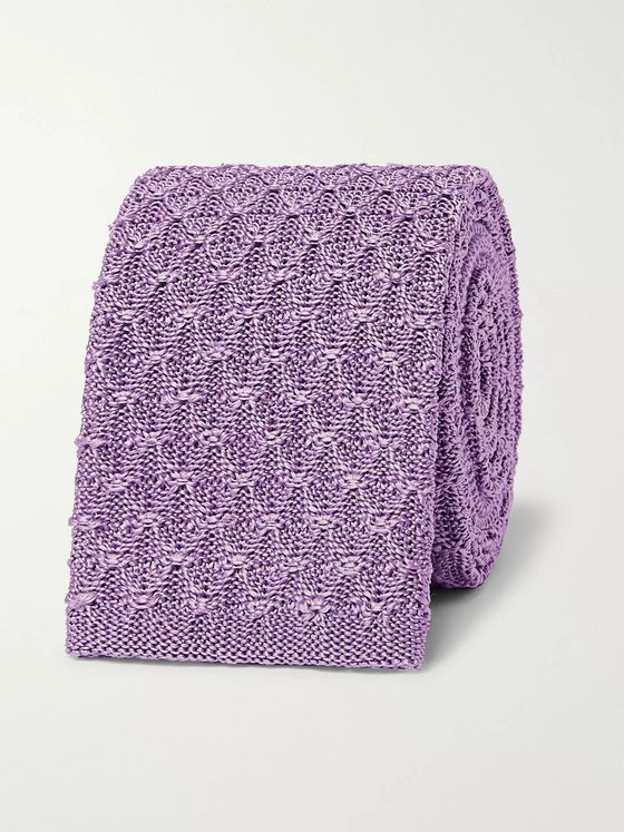 Richard James 6.5cm Knitted Silk Tie