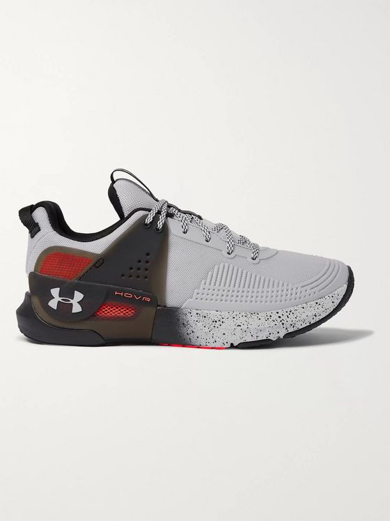 Under Armour UA HOVR Apex Mesh and Rubber Sneakers
