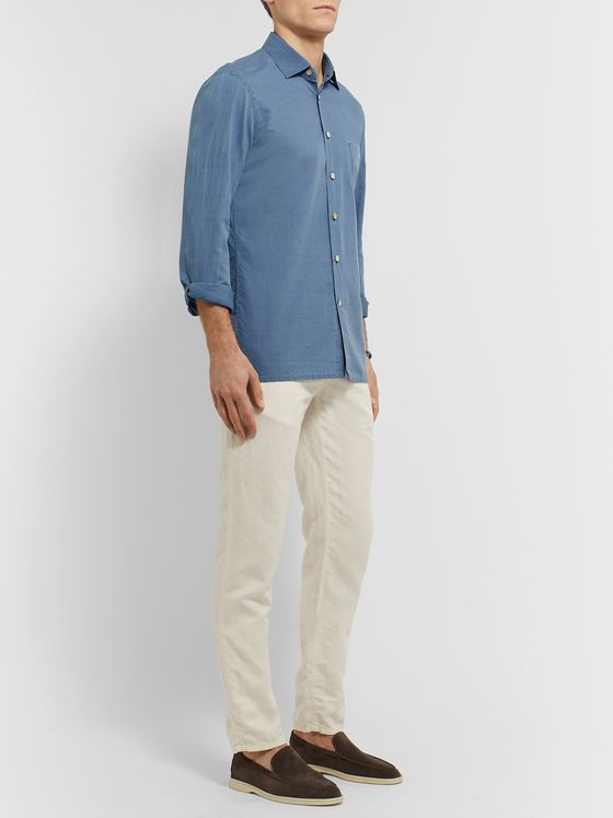KITON Slim-Fit Cotton Shirt