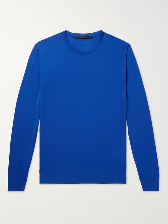 Kiton Slim-Fit Wool T-Shirt