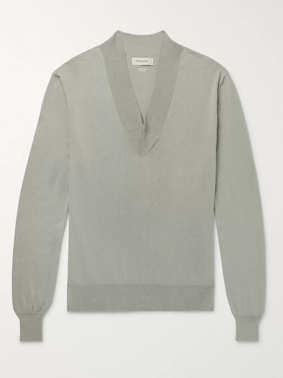 Rochas Cotton Sweater
