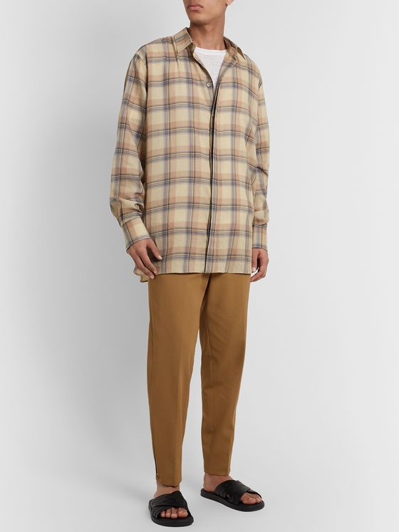Rochas Checked Cotton Shirt