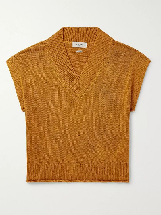 Rochas Cotton Sweater Vest