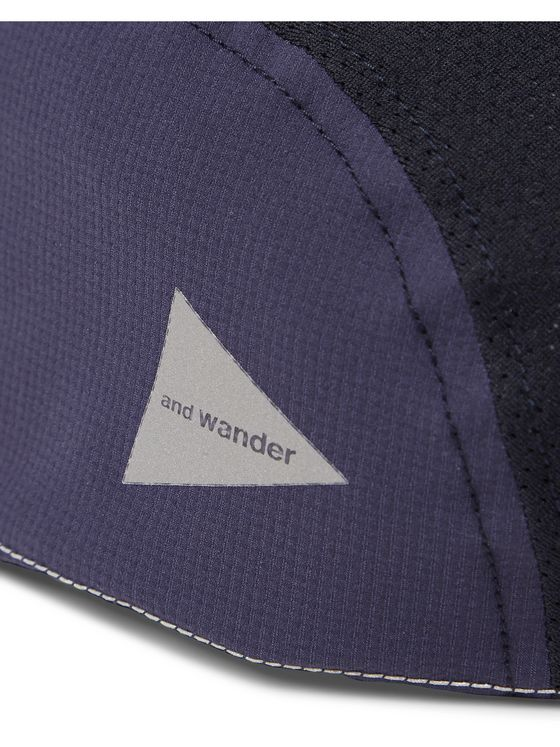And Wander Ripstop and Mesh Cap