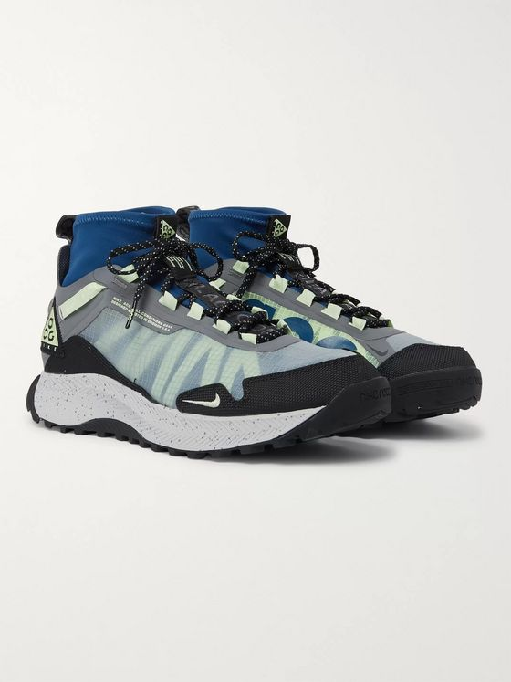 Nike ACG Zoom Terra Zaherra Ripstop and Neoprene Sneakers