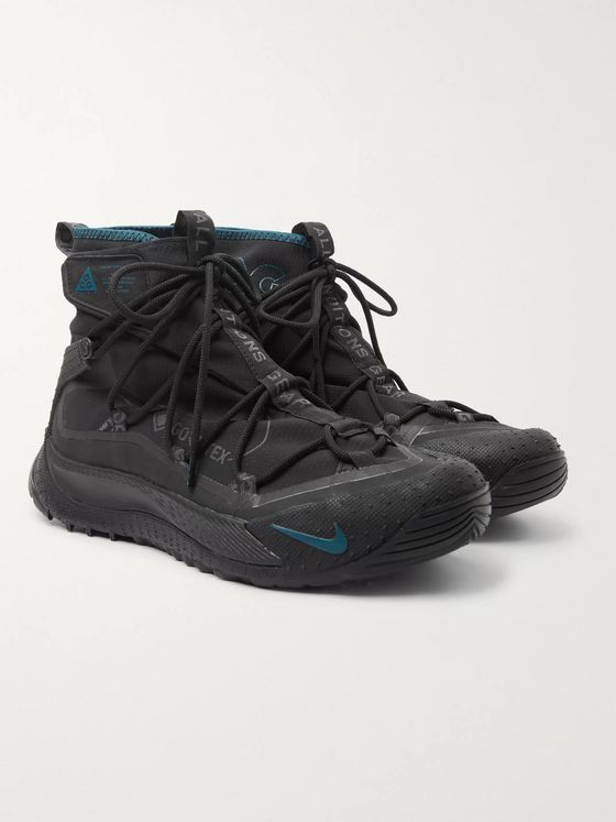 Nike ACG Air Terra Antarktik GORE-TEX Ripstop and Rubber Sneakers
