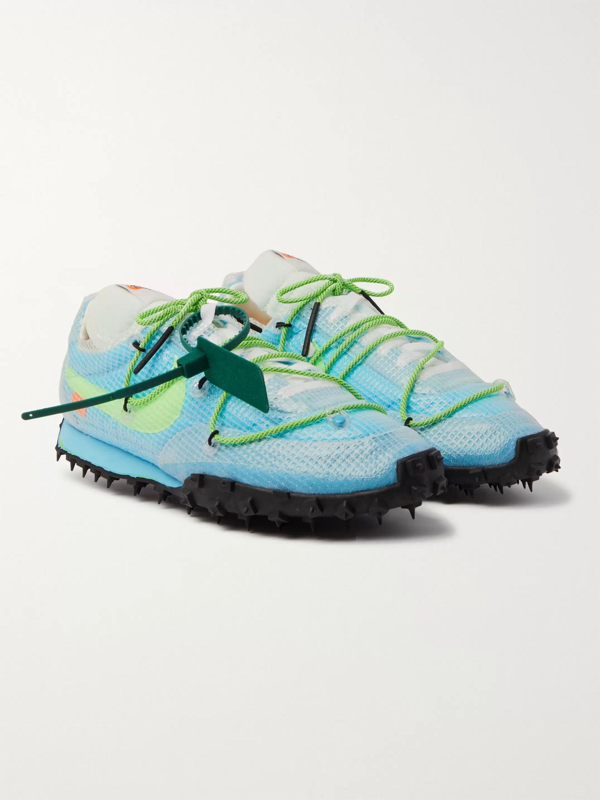 Mens Nike Free Trainer 5.0 Nylon Mesh Athletic Shoes
