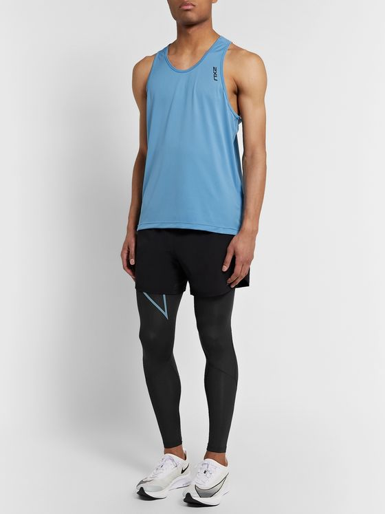 2XU Run Dash Mesh-Panelled PWX Compression Tights