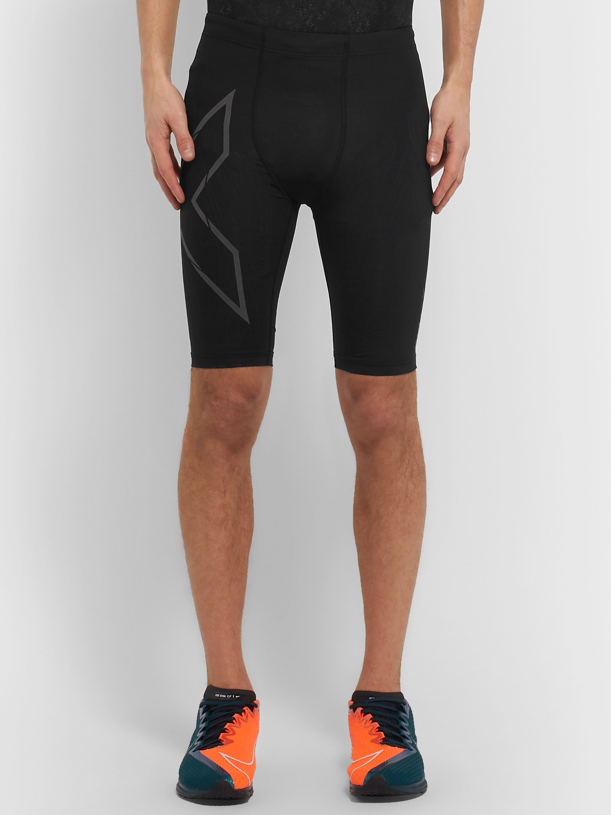 2XU MCS Compression Running Shorts
