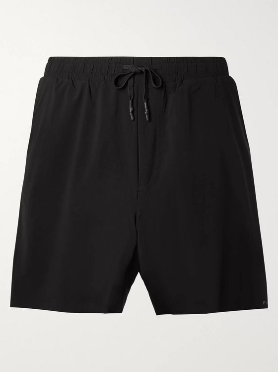 FALKE Ergonomic Sport System Challenger Slim-Fit Drawstring Stretch-Shell Shorts