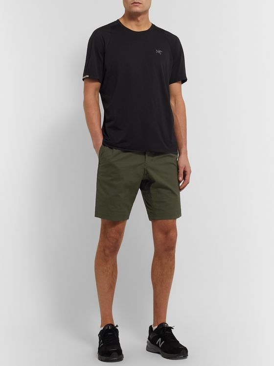 Gramicci NN Belted Cotton-Blend Shorts
