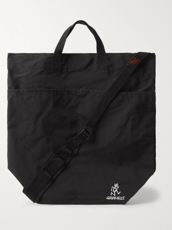 Gramicci Logo-Embroidered Nylon Tote