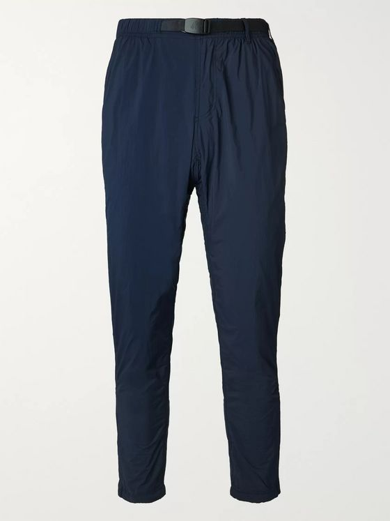 Gramicci Komatsu Slim-Fit Tapered Packable Belted Nylon Trousers