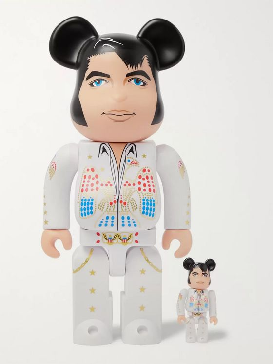 BE@RBRICK 100% + 400% Elvis Presley Figurine Set