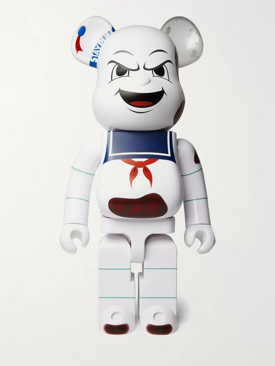 BE@RBRICK 1000% Animated Stay Puft Marshmallow Man Figurine