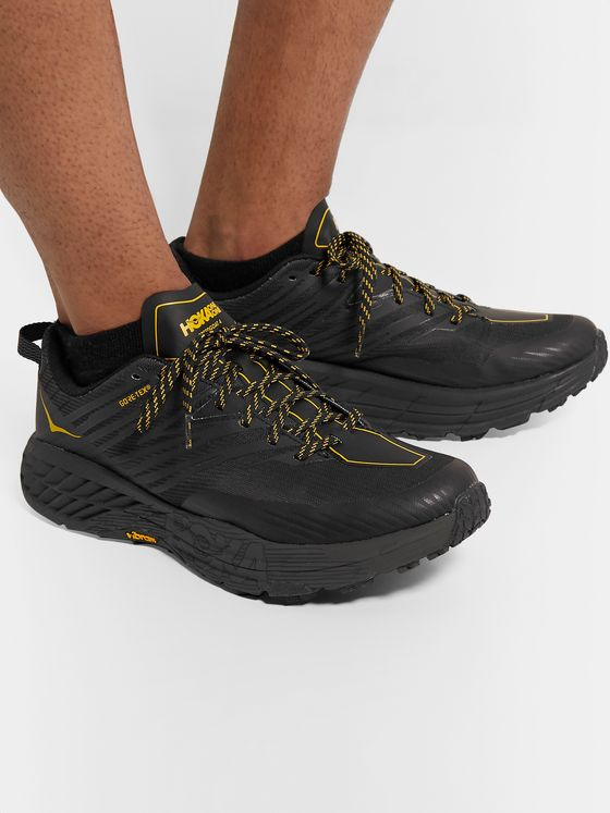 Hoka One One Speedgoat 4 GORE-TEX and Mesh Running Sneakers