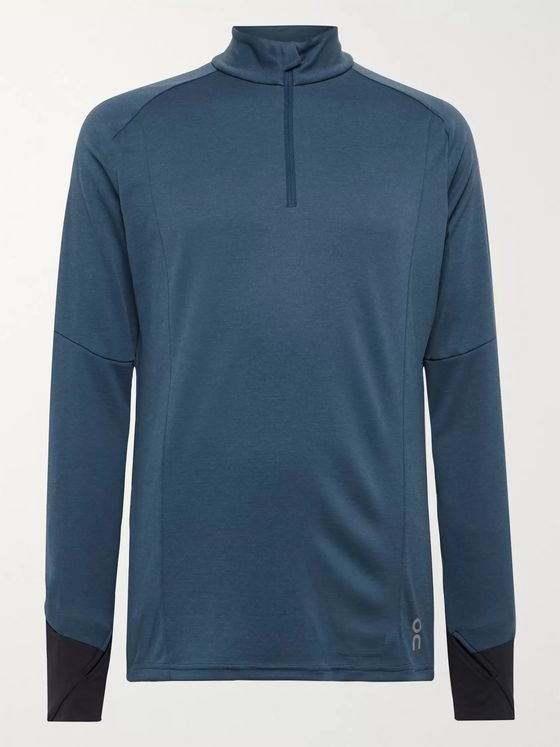 On Weather Tech-Jersey Half-Zip Top