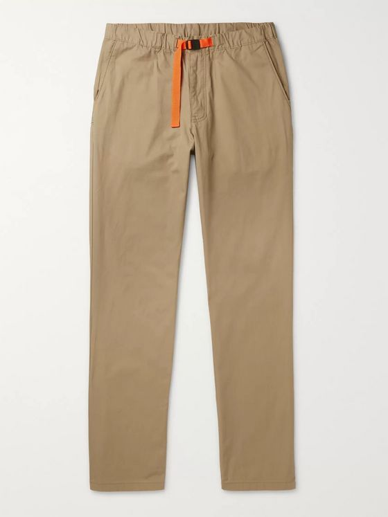Patagonia Gi Belted Organic Cotton-Twill Trousers