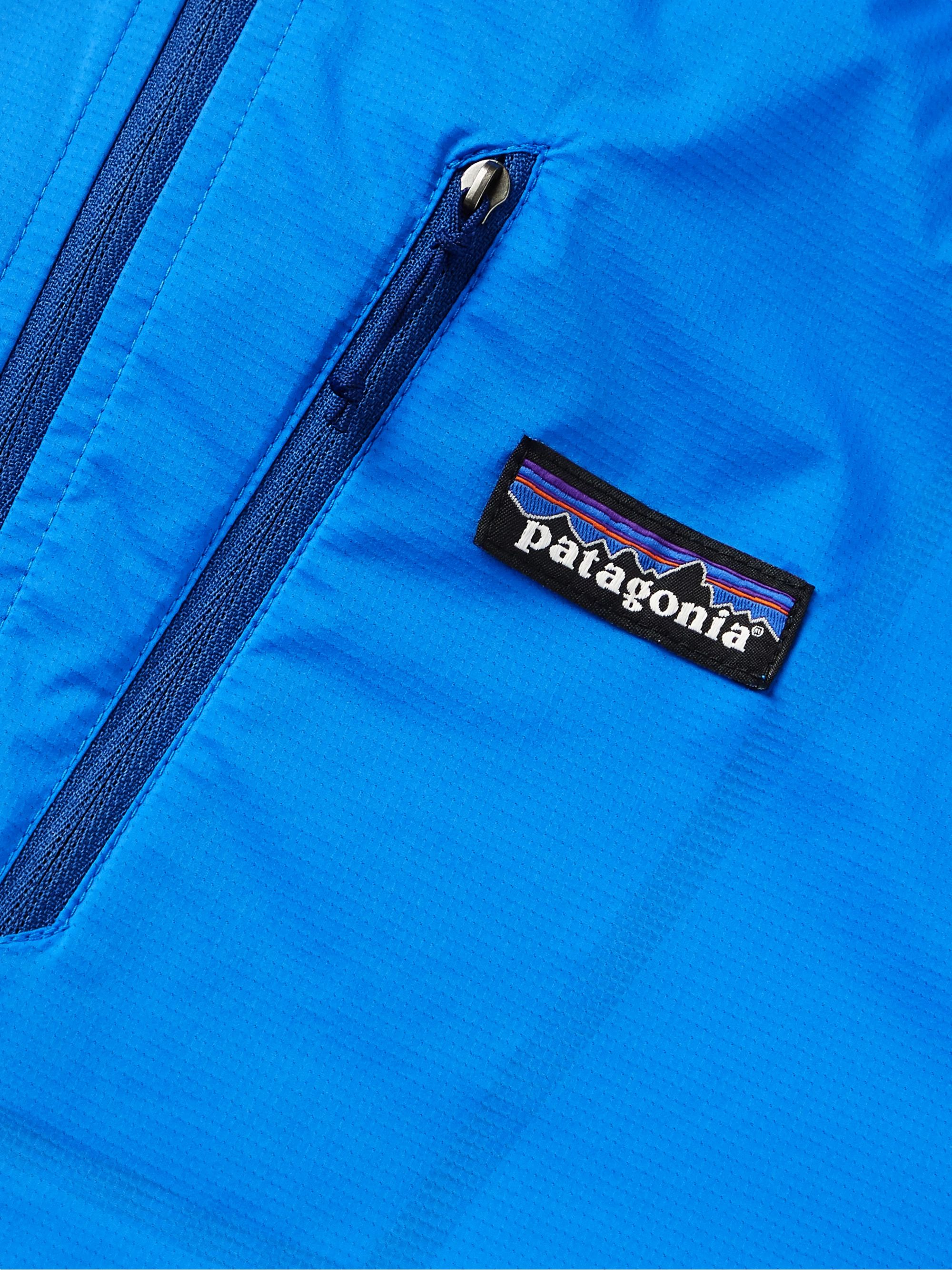 Patagonia Houdini Air Slim-Fit Packable Nylon-Blend Ripstop Hooded Jacket