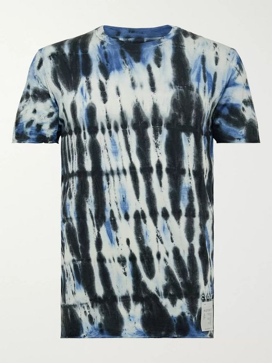 Satisfy Tie-Dyed Cloud Merino T-Shirt