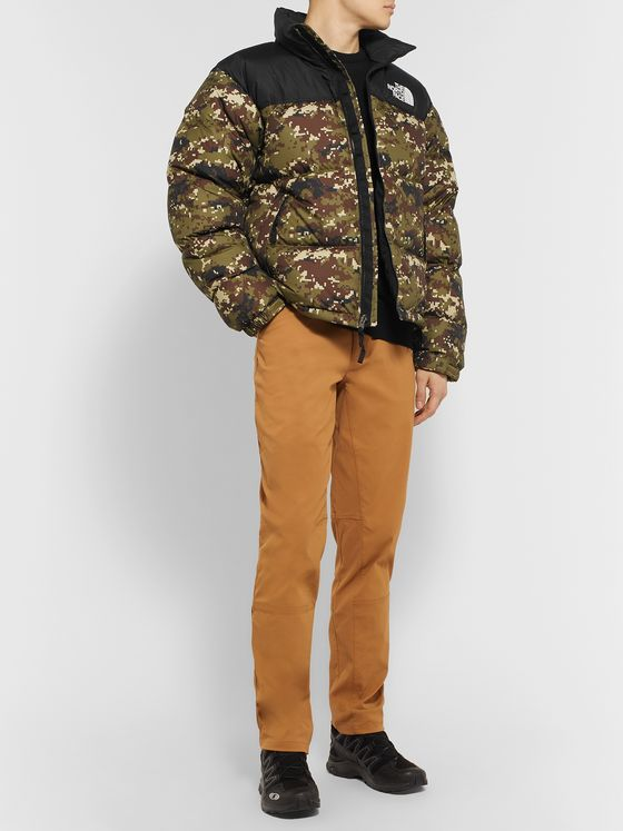 The North Face 1996 Nuptse Camouflage Quilted Shell Down Jacket