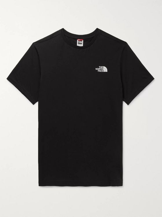 The North Face Simple Dome Logo-Print Cotton-Jersey T-Shirt