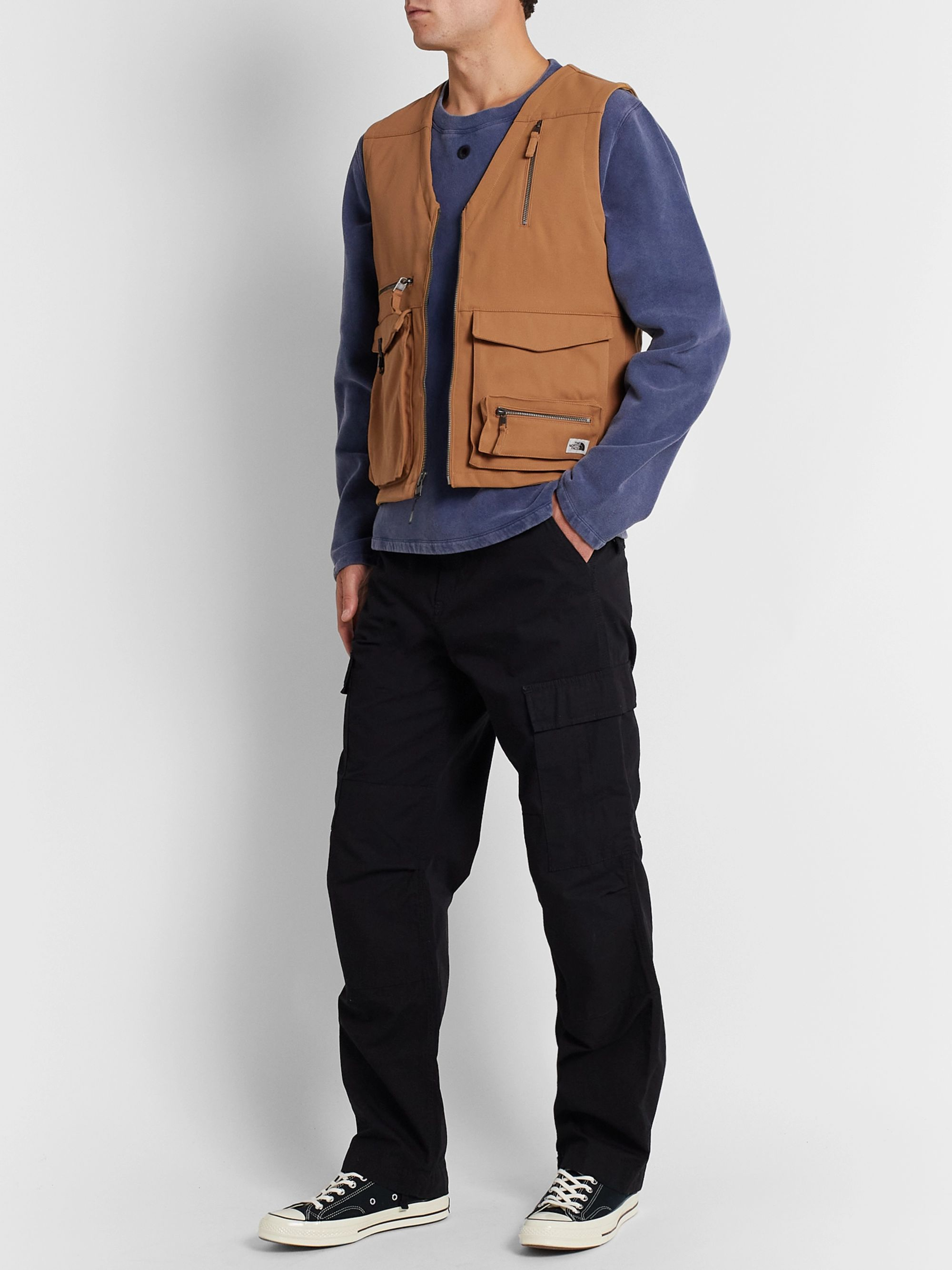 The North Face Wild Logo-Appliquéd Canvas Gilet