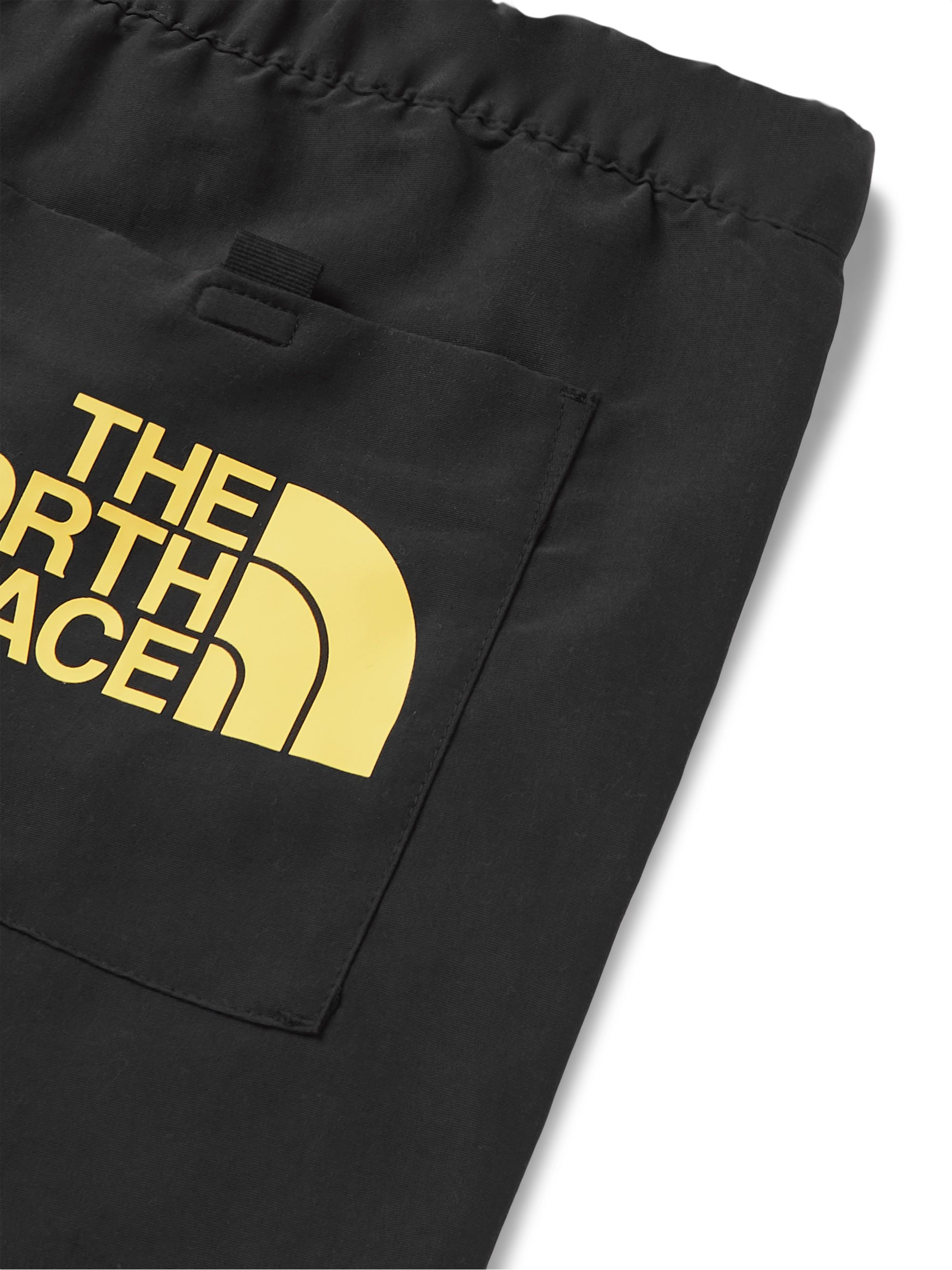 The North Face Masters of Stone Logo-Appliquéd Printed Drawstring Shell Shorts