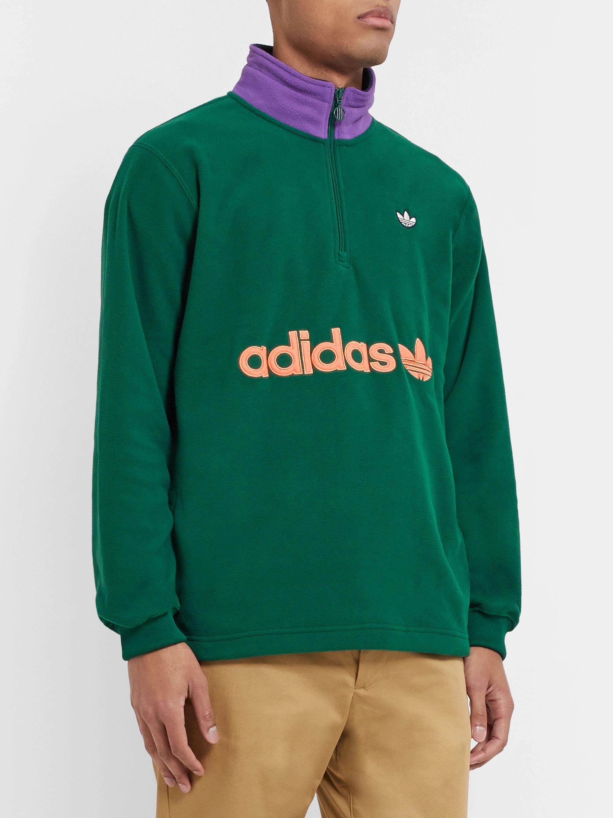 adidas Originals Half Zip Fleece | Size?