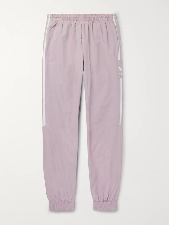 adidas Originals Logo-Embroidered Nylon Track Pants