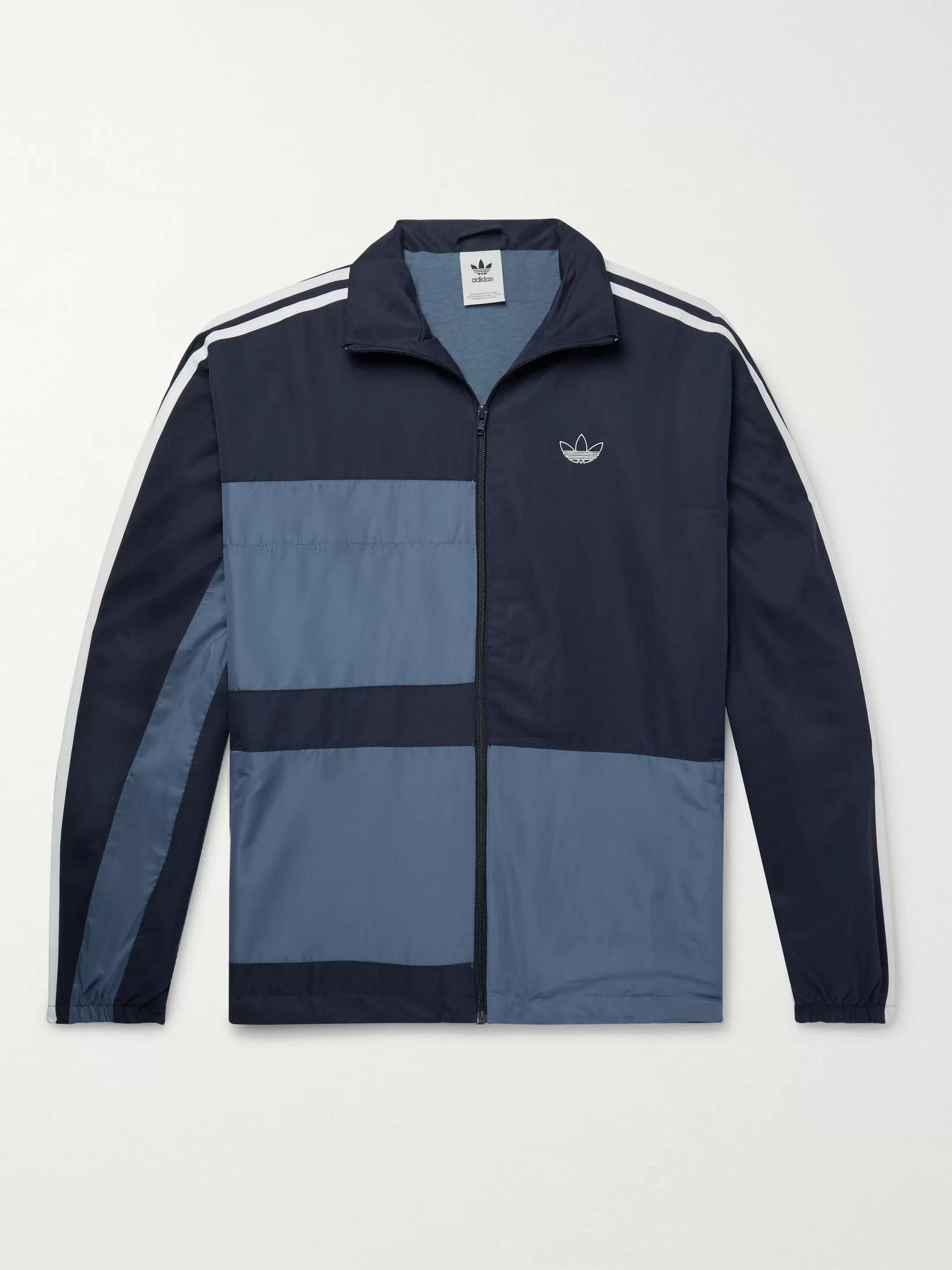 Colour Block Shell Track Jacket