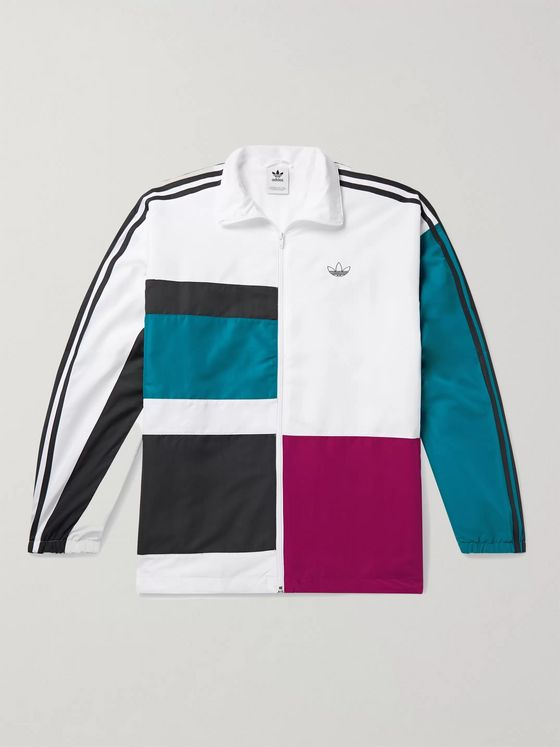 adidas Originals Color-Block Shell Track Jacket
