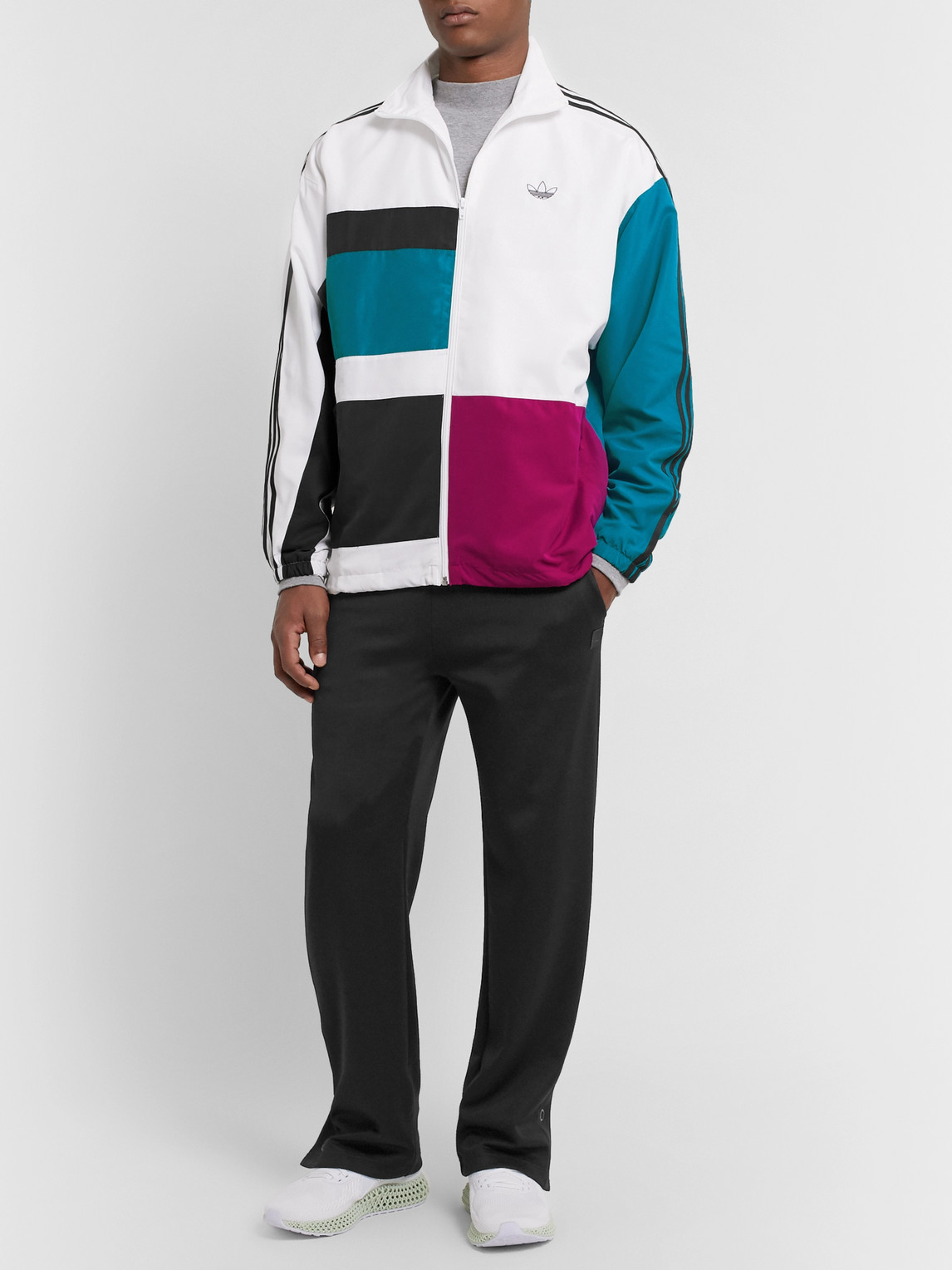 Adidas Originals Jackets COLOR-BLOCK SHELL TRACK JACKET