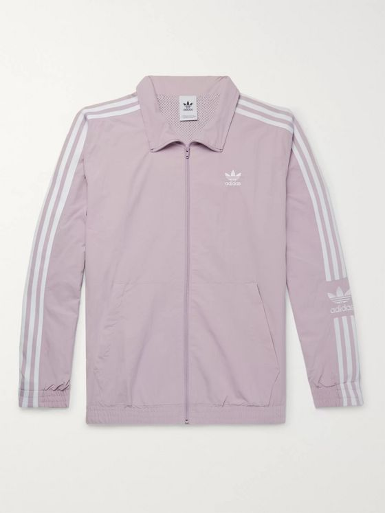 adidas Originals Logo-Embroidered Nylon Track Jacket