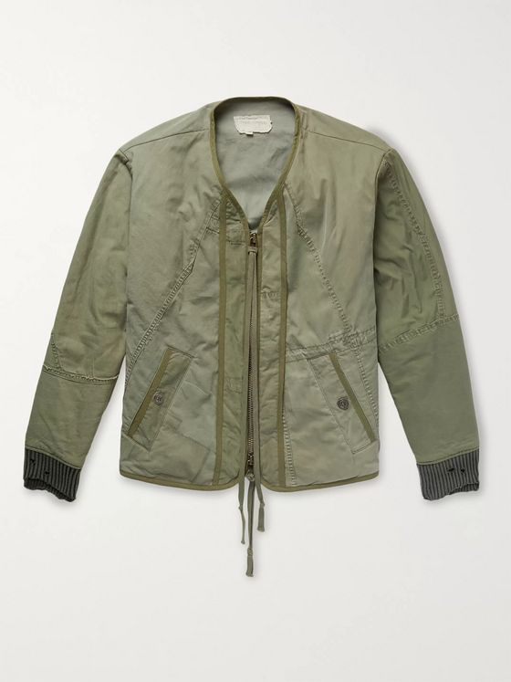 Greg Lauren Cotton-Blend Bomber Jacket