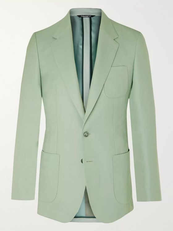 Dolce & Gabbana Slim-Fit Cashmere and Silk-Blend Twill Blazer