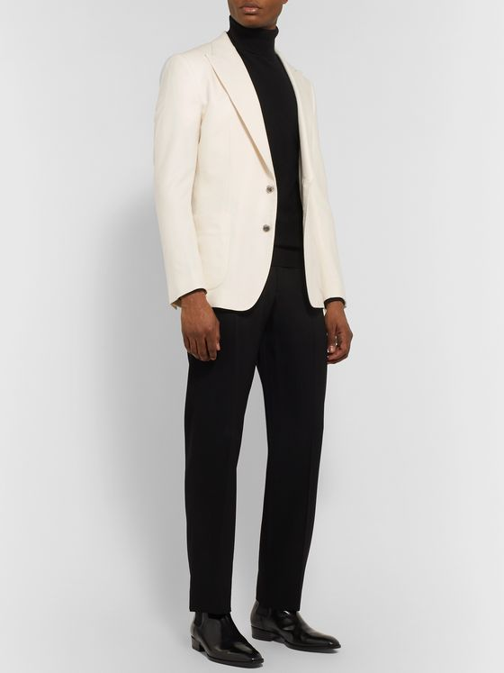 Dolce & Gabbana Martini Slim-Fit Cashmere and Silk-Blend Blazer