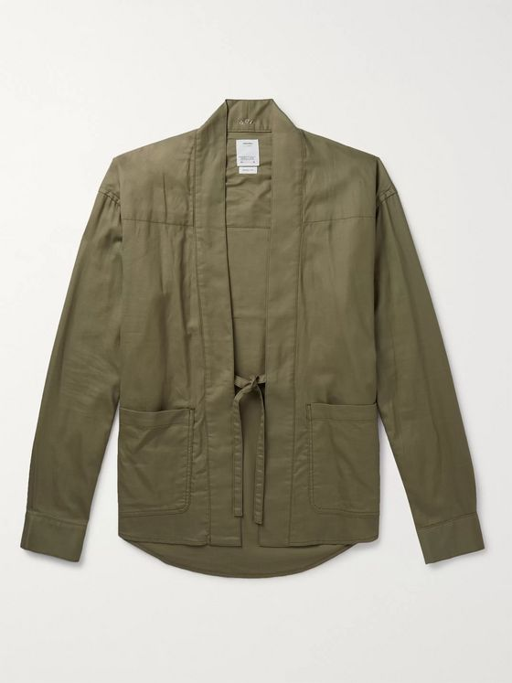 visvim Lhamo Cotton-Twill Shirt