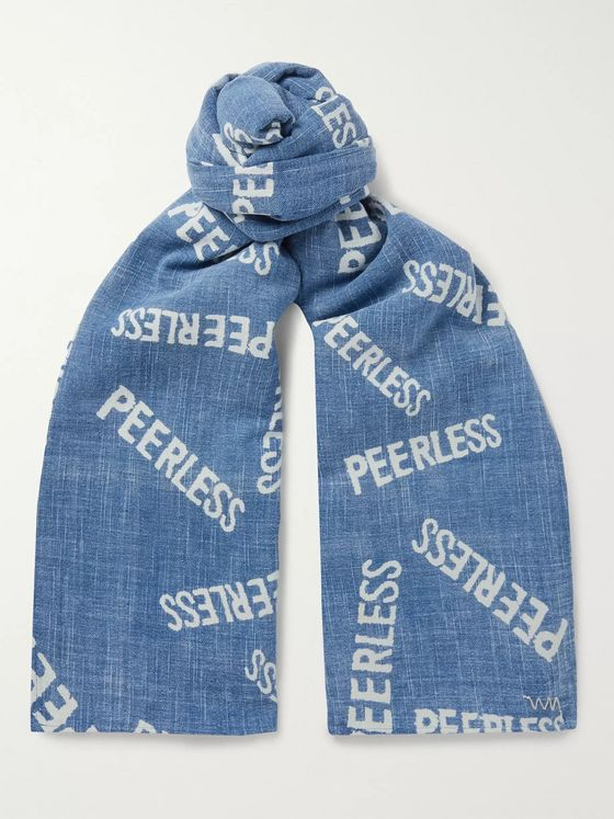 visvim Printed Cotton Scarf